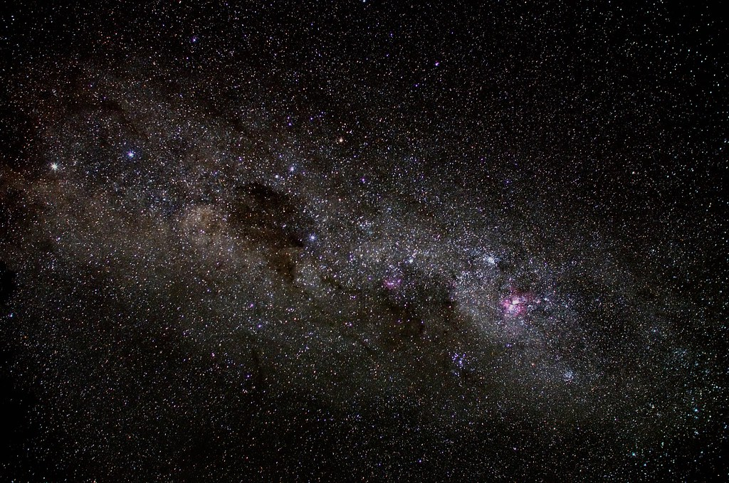 Milky Way, Crux, and Coalsack