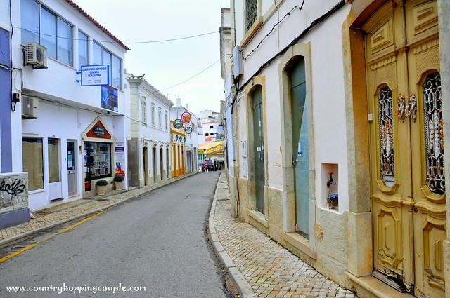 Streets in Albufeira