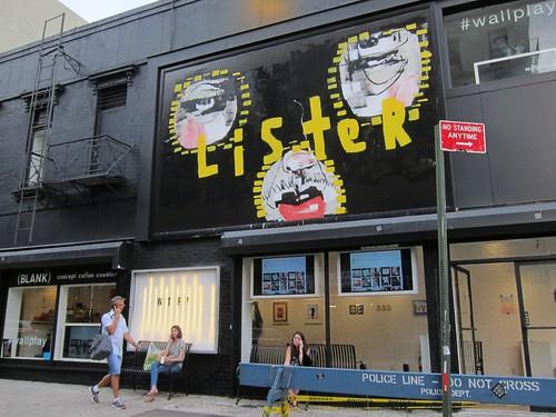 Lister at Wallplay