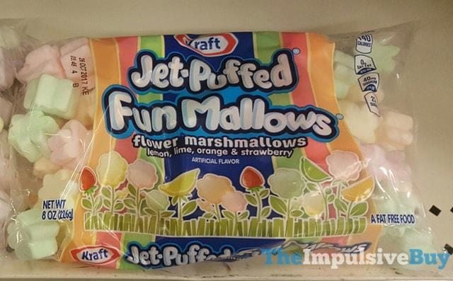 Kraft Jet-Puffed Fun Mallows Flower Marshmallows