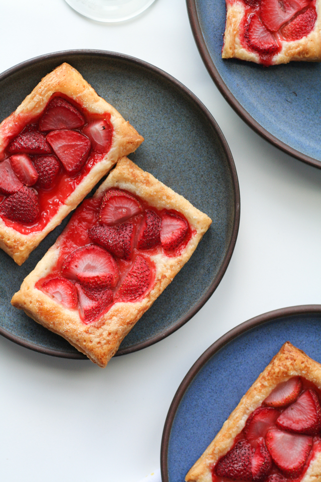 balsamic white wine strawberry tarts [ inthiskitchen.com ]