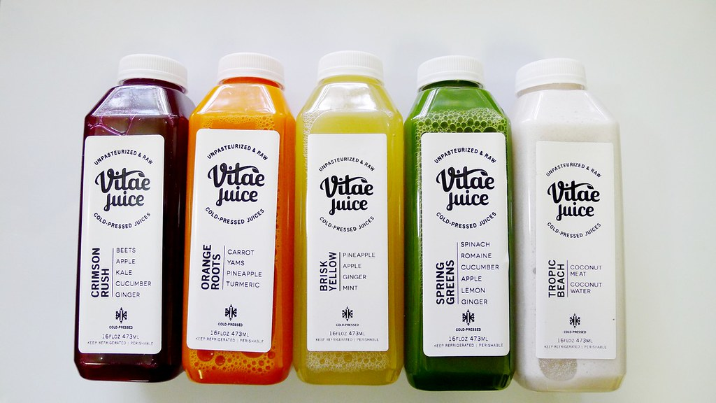 Vitae Cold Press Juice Vancouver Juice Cleanse