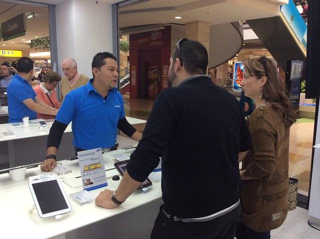 Tienda CLX Samsung Santa Fe Bogotá
