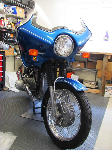 Front View with Front Fender Mounted