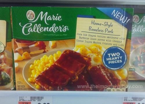 Marie Callender's Home-Style Boneless Pork