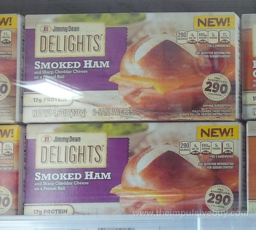 Jimmy Dean Delights Smoked Ham Sandwich