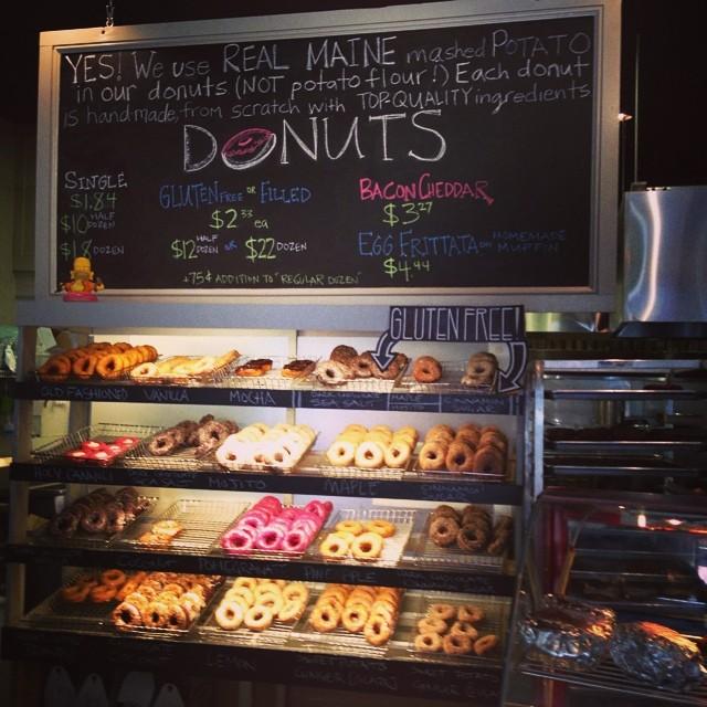 Holy Donut, Portland, Maine.