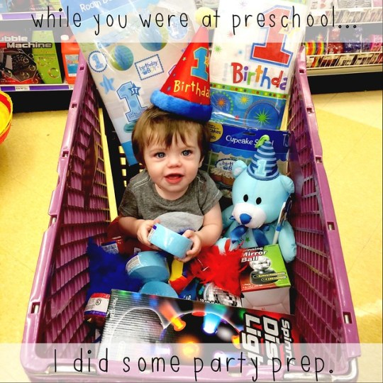 While You Were At Preschool