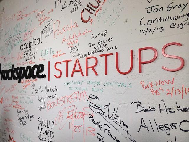 Interviewing startups.