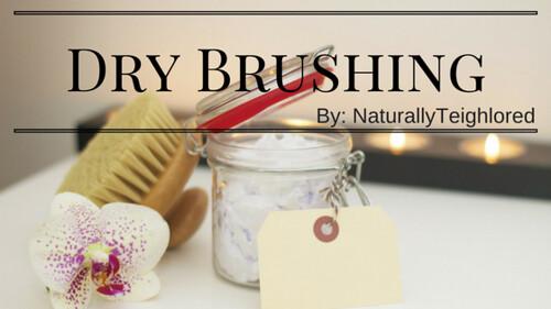 Dry brushing pic