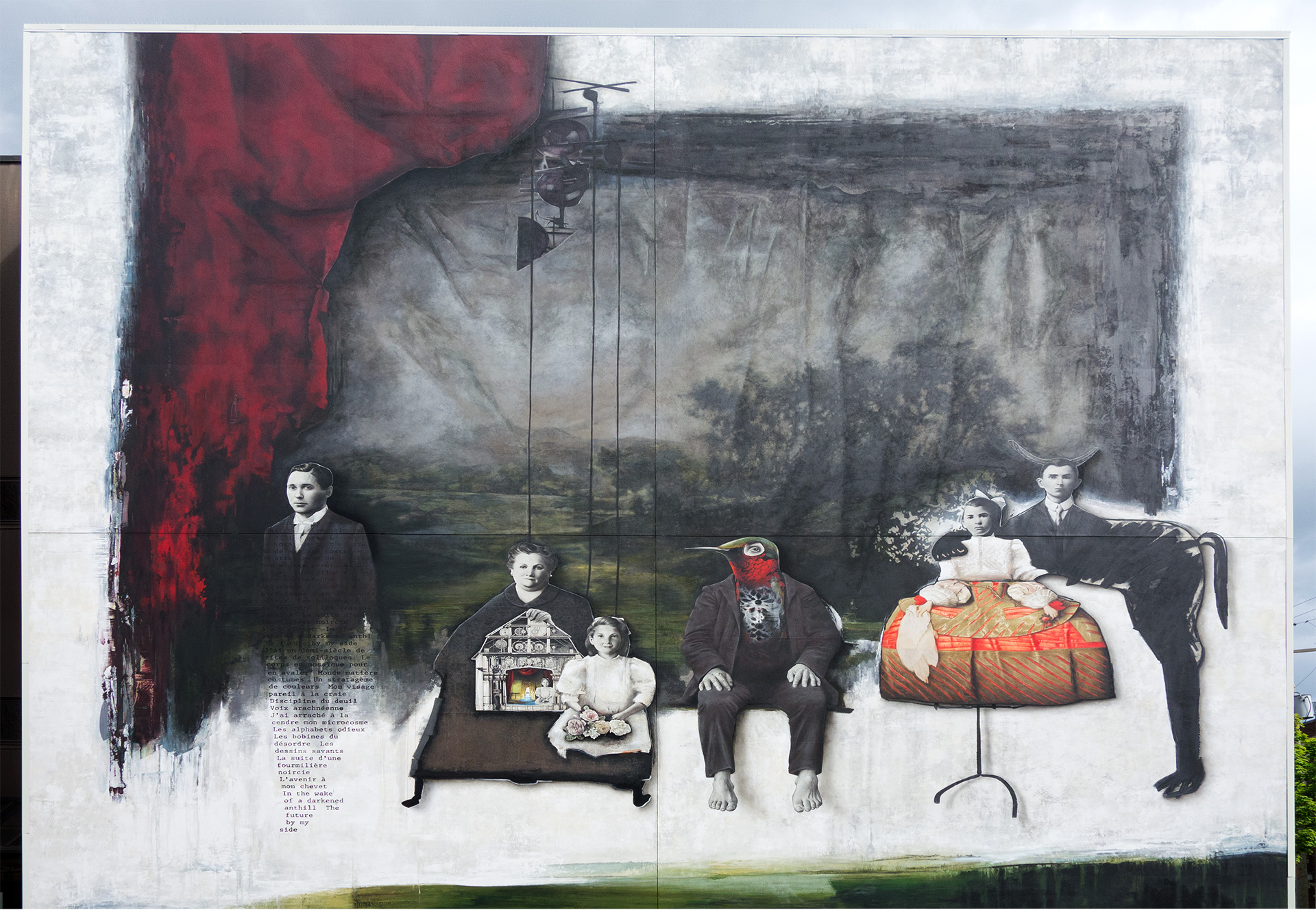 Assorted Family - Mural