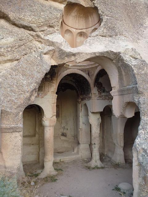 Turquie - jour 19 - De Çavusin à Mustafapasa - 187 - Mustafapaşa - Eglises de Sarıca