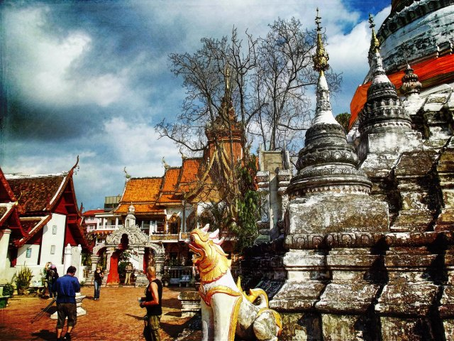 Chiang Mai is perfect for backpackers on a retreat from city life