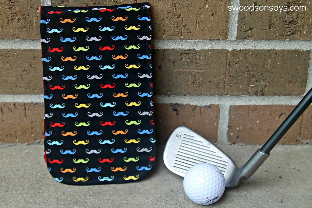 DIY Golf Score Card Holder Tutorial- Swoodson Says