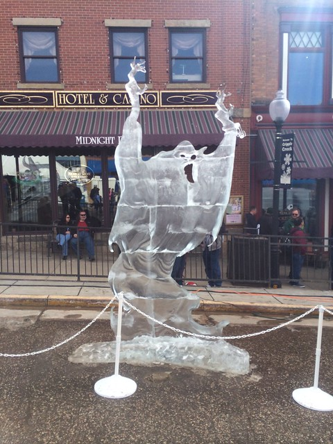 Picture from Cripple Creek Ice Festival
