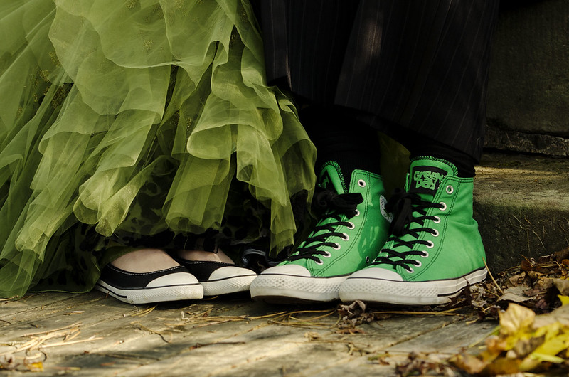 "Chucks! ""Green Day"" Indeed"