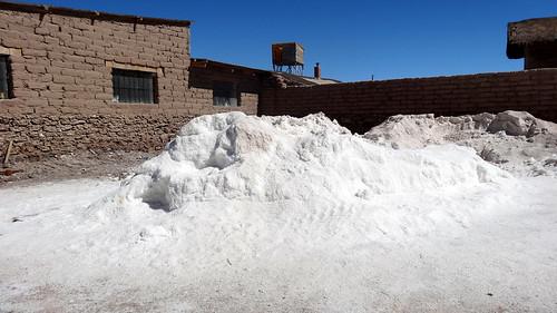 Colchani, Salar de Uyuni, Bolivie