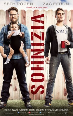 Seth Rogen e Zac Efron em Vizinhos