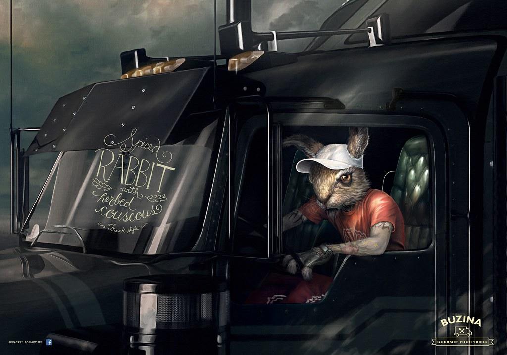 Buzina Gourmet Food Truck - Rabbit