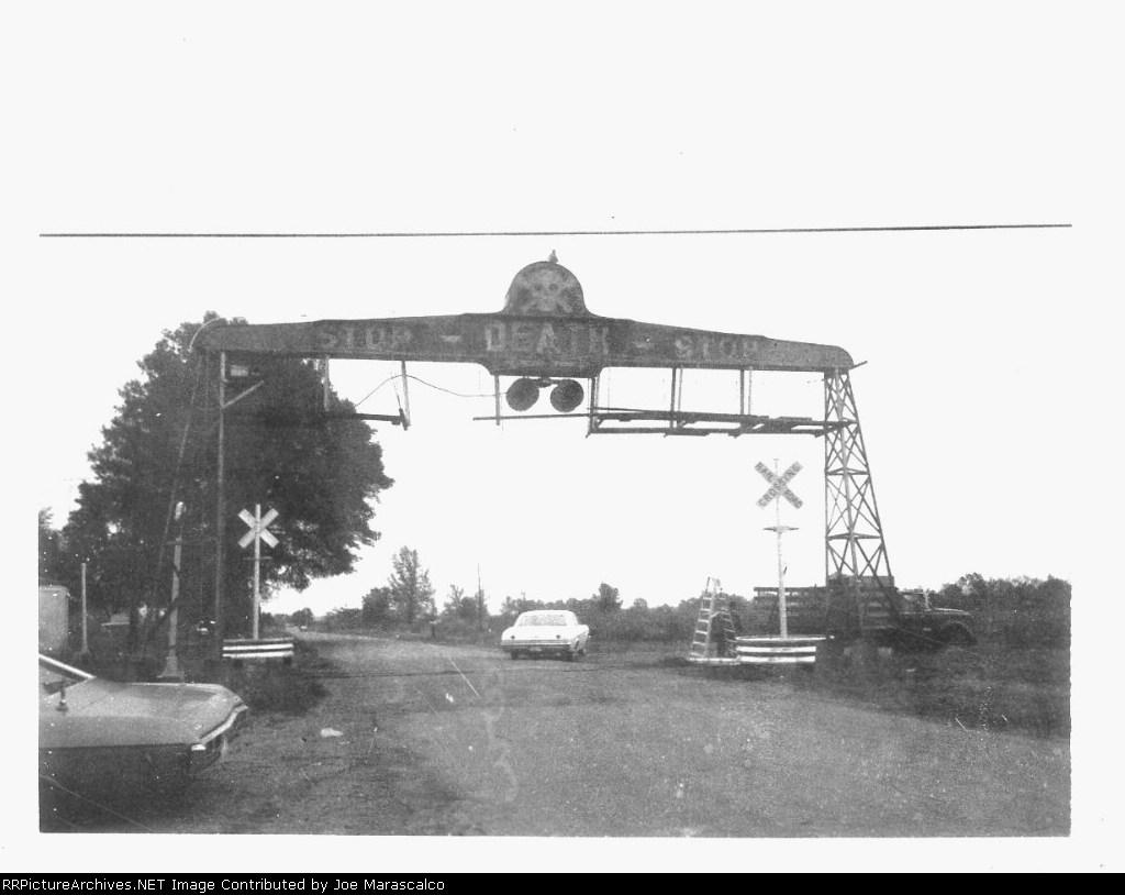 Skull Railroad Signal