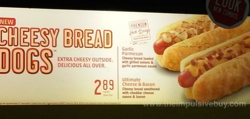 Sonic Cheesy Breads Dogs