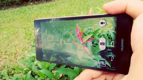 การใช้งานกล้อง Huawei Ascend P7