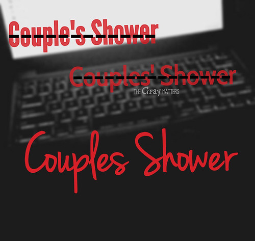 Couples Shower
