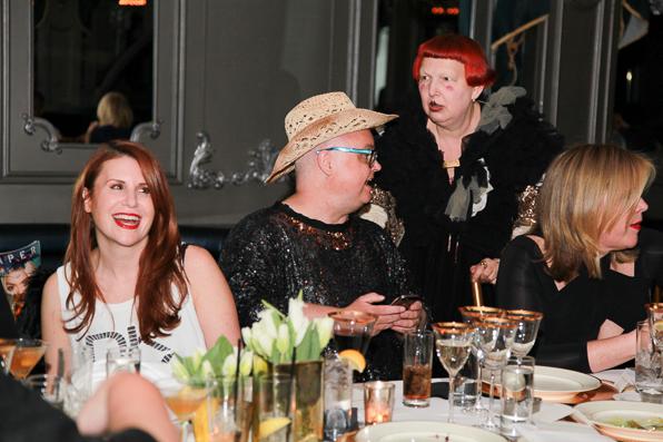 Aliza Licht, Mickey Boardman, Lynn Yaeger and Marjorie Gubelmann at Up & Down
