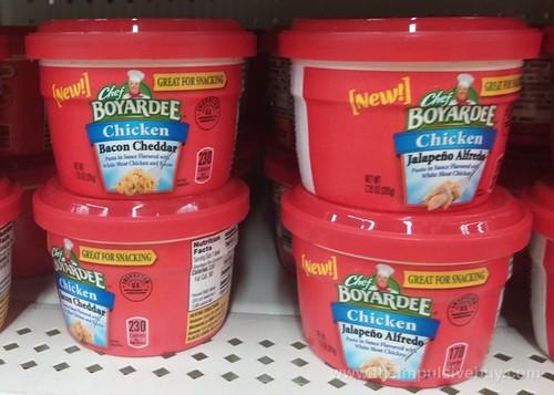 Chef Boyardee Cups (Chicken Bacon Cheddar and Chicken Jalapeno Alfredo)