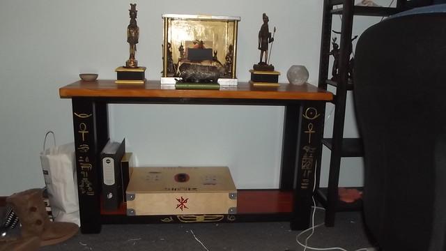 Sobek and Heru's shrine