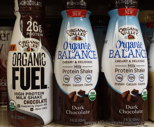 Organic Valley Organic Fuel and Organic Balance 1