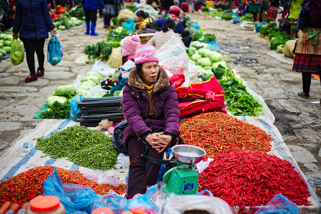 The peppers at the market were a big deal.
