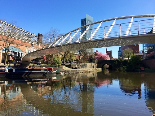 Manchester - Castlefield in Spring