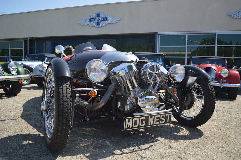 Morgan 3 Wheeler - Bike-urious