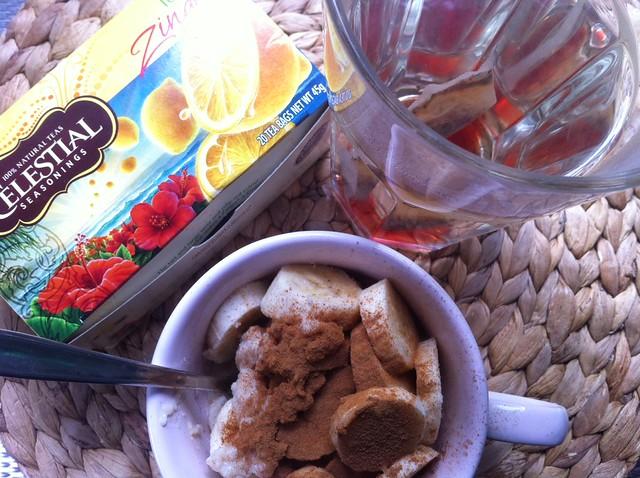 wat at ik woensdag ontbijt