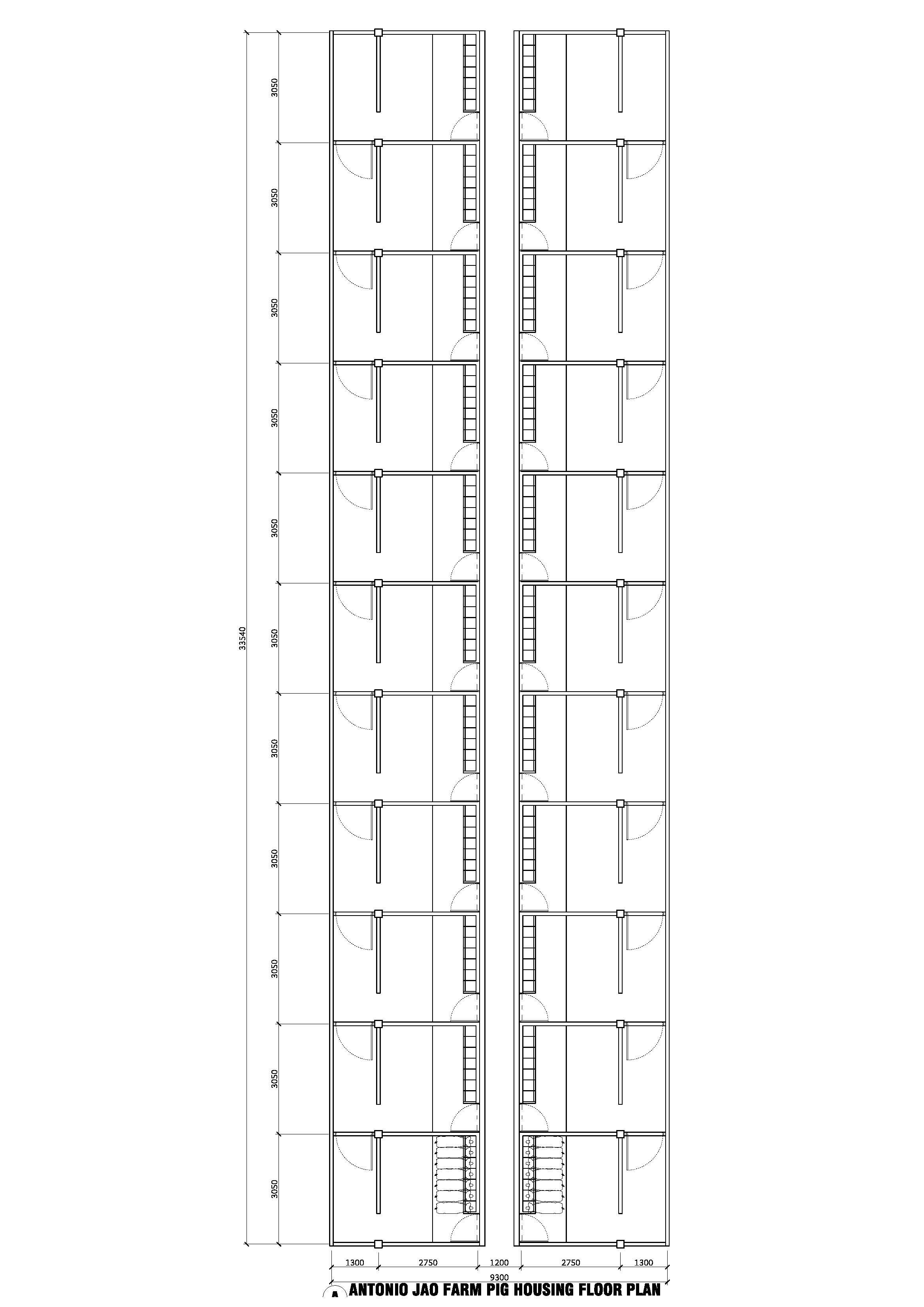 Backyard Piggery Design (Modular) (Page 1) — Swine