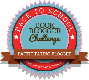 back to school book blogger challenge