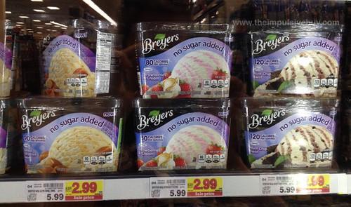 Breyers No Sugar Added