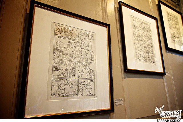 The Art of Comic Books Mansion at Strathmore Brightest Young Things Farrah Skeiky 35