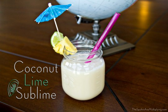 Coconut Lime Sublime