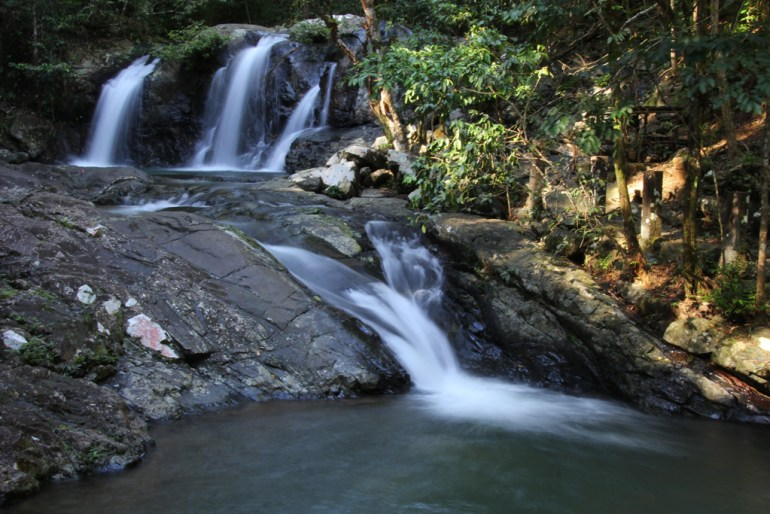 Be in awe at Mt Salakot Falls