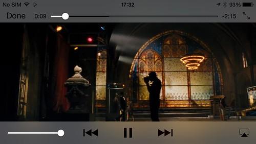 ดูไฟล์วิดีโอ 1080p บน iPhone 5s