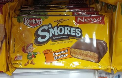 Keebler Peanut Butter S'mores Sandwich Cookies