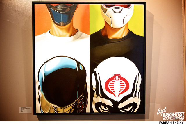 The Art of Comic Books Mansion at Strathmore Brightest Young Things Farrah Skeiky 72