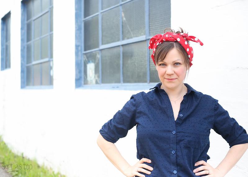rosie the riveter inspired