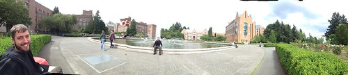 Dustin at the University of Washington