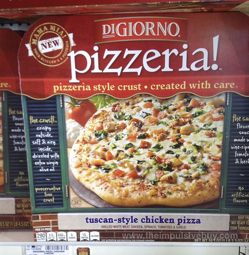 DiGiorno Pizzeria Tuscan-Style Chicken Pizza