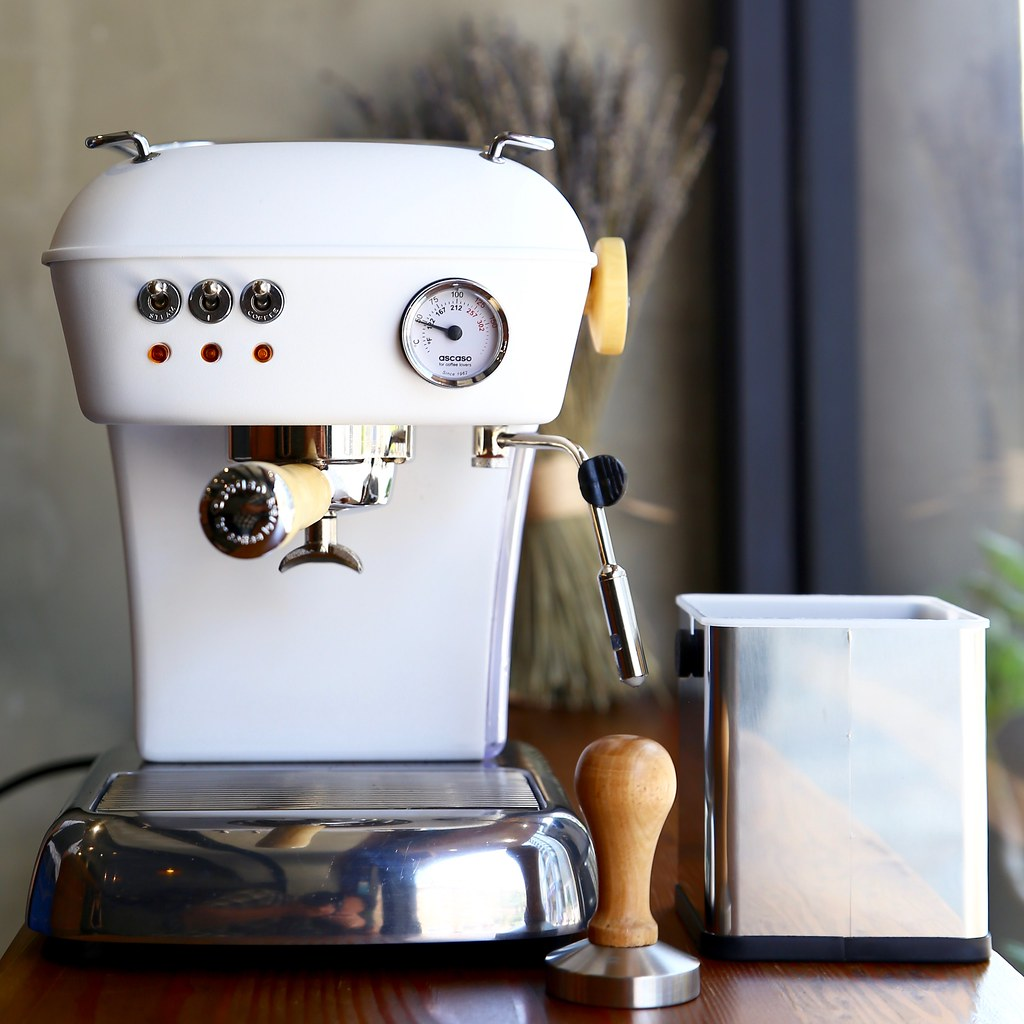 ASCASO 家用半自動義式咖啡機推薦 使用教學操作示範   2017年新款上市 西班牙原裝進口 總代理瑞技企業 @ 【Uncle ...