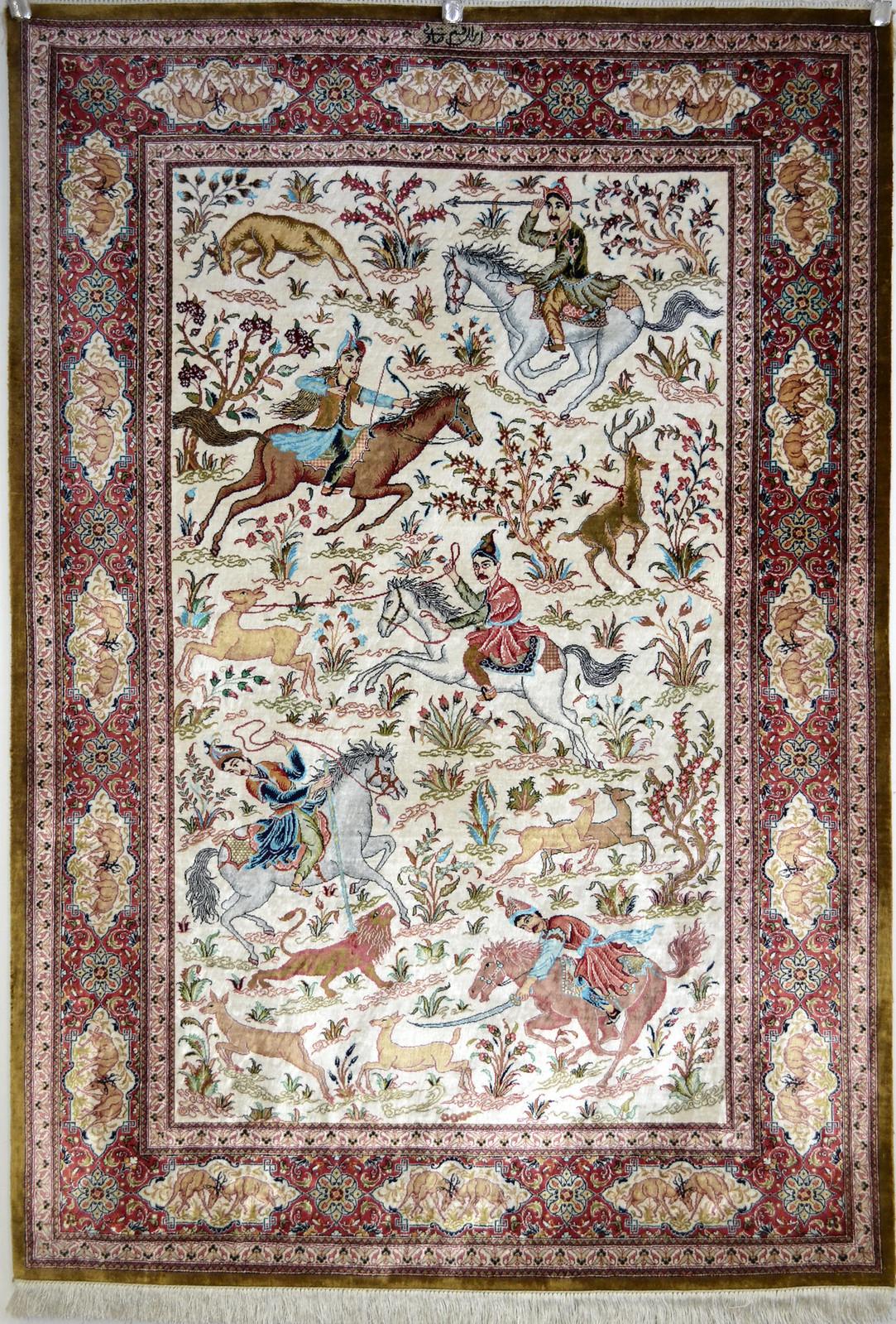 Persian Carpet Silk
