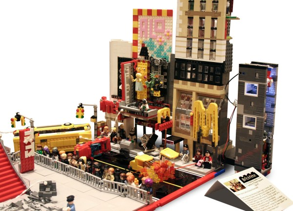 Moc Lego Amazing Spider-man 2 Times Square Battle